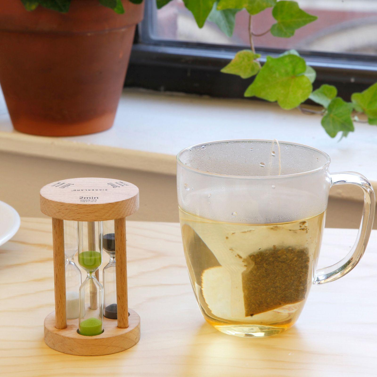 sablier à thé kikkerland
