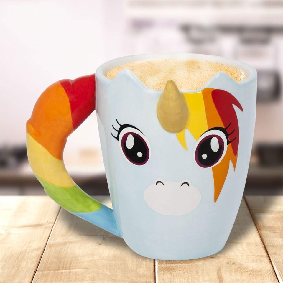 mug licorne arc-en-ciel