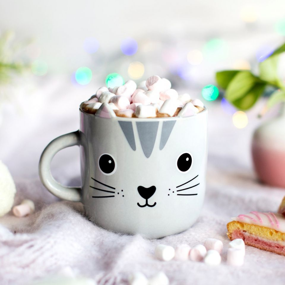 mug kawaii nori le chat sass and belle