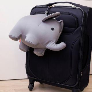coussin de voyage éléphant kikkerland
