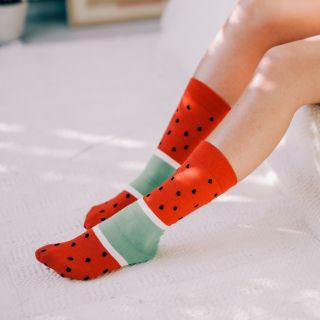 chaussettes glace pastèque doiy
