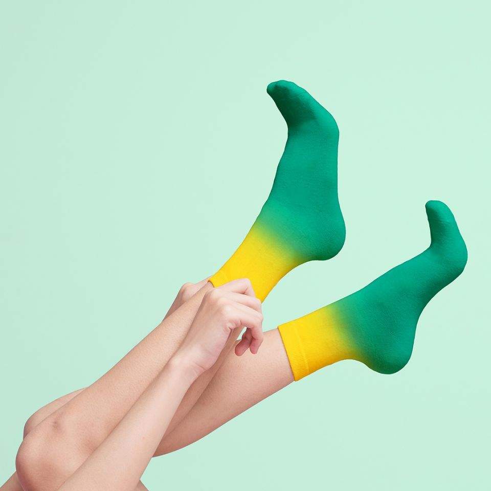 chaussettes cocktail mojito luckies