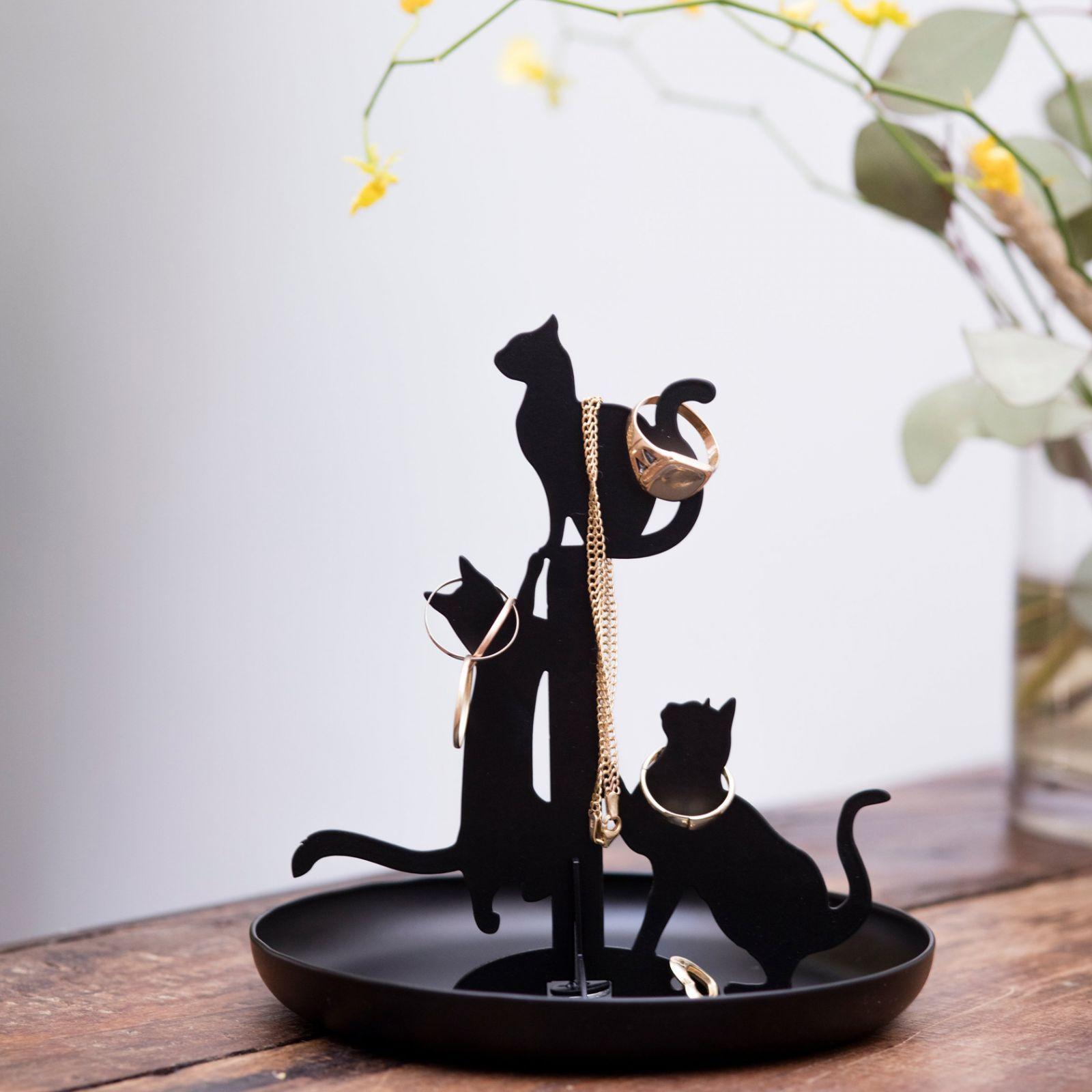 porte-bijoux chats kikkerland